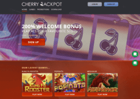 cherry jackpot casino reviews