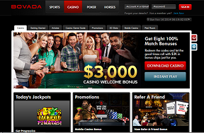 Bovada casino bonus code