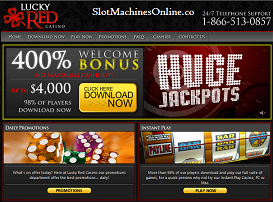 lucky red casino bonus code