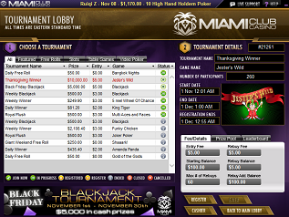 Miami Club Slot Tournaments
