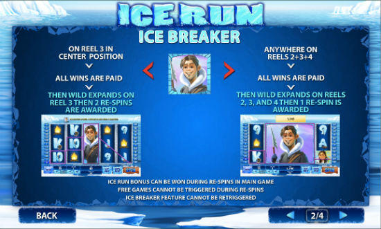 Ice Run Slot Machine