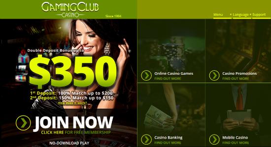 Gaming Club Casino Bonus Codes
