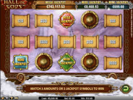 Hall of Gods Slot Mega Jackpot