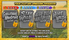 Gorilla Go Wild Slot Free Spins