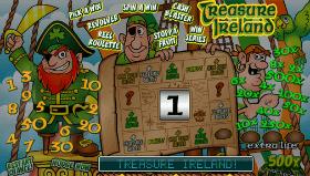 Treasure Ireland Slot Map