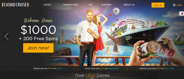casino cruise bonuscode
