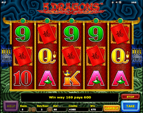 5 Dragons Slot Machine Aristocrat Slots Online
