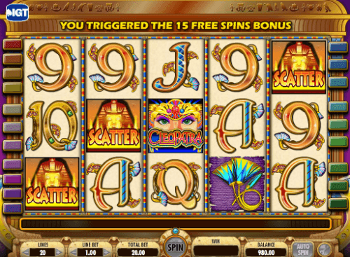 online slot games for money cleopatra spiele