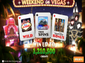Weekend in Vegas Slot