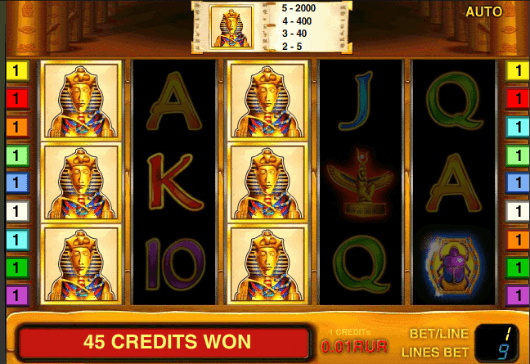 play online casino slots game book of ra
