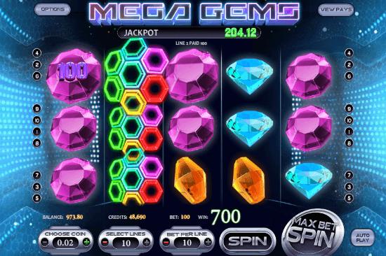 Mega Gems Expanding Wild