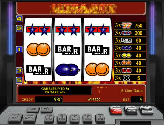 Free Slot Ultra Hot