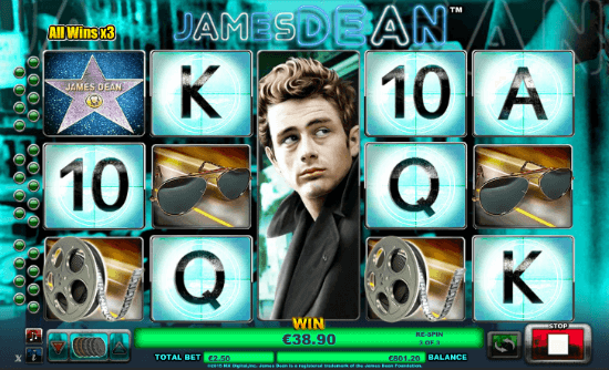 James Dean Slot Machine for Real Money - Rizk Casino Online