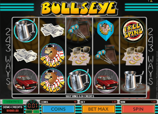 Bullseye Slot Machine