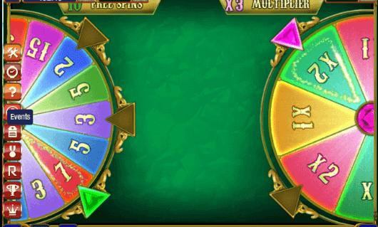 Diamond Arrow Wheel Bonus