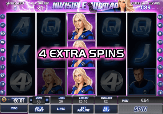 Free Spins Special Features
