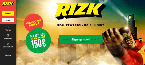 Rizk Casino - Best Online Casino Bonuses and Rewards!