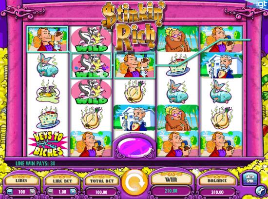 stinkin rich online casino