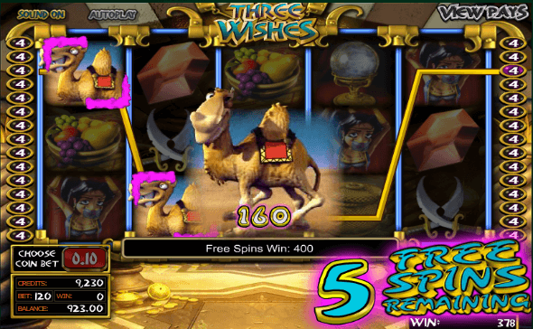 Three Wishes Slot Free Spins