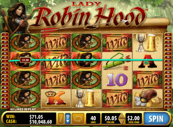 Lady Robin Hood Stacked Wilds