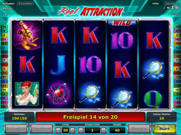 Reel Attraction Slot Machine