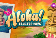 Aloha! Cluster Pays Slot Machine