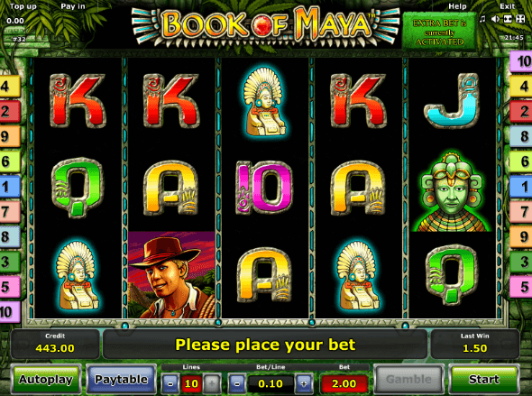 online casino slot machines book of rar
