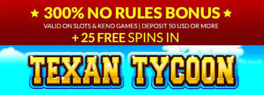 25 Free Spins at Planet 7 Casino