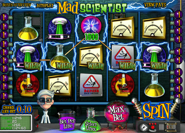 Nice Win on Mad Scientist Slot