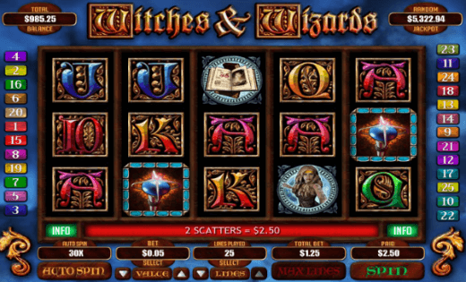 slots free games online wizards win
