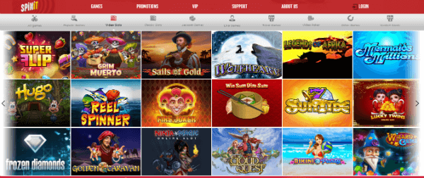 SPINit Slots Library