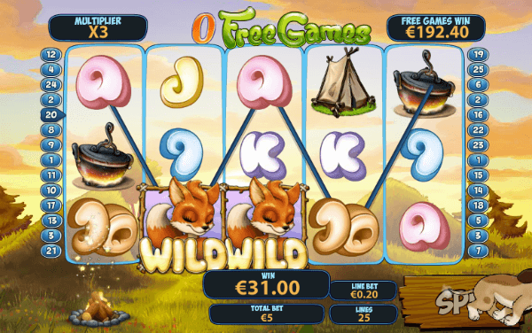 Foxy Fortunes Slot Free Spins
