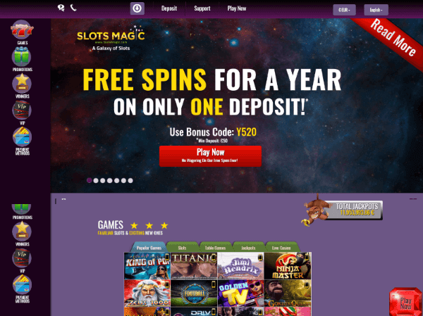 Slots Magic Casino Free Spins