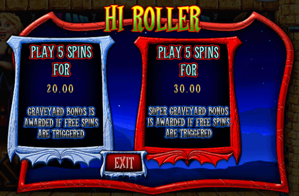 High Roller Feature
