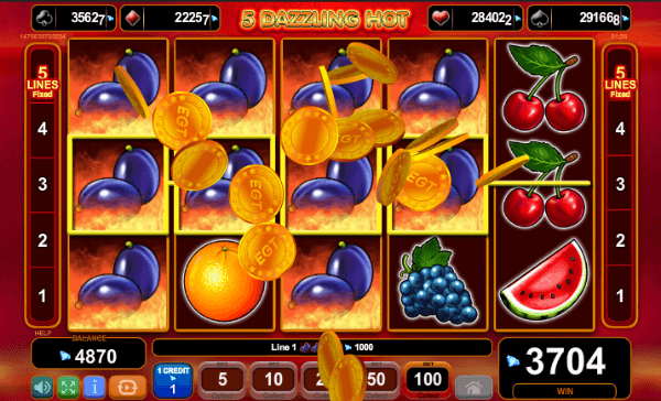 5 Dazzling Hot Slots Win