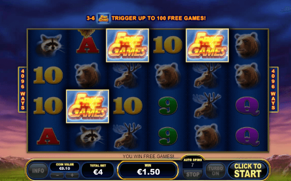 Buffalo Blitz Slot Free Spins