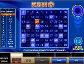 Free Microgaming Keno