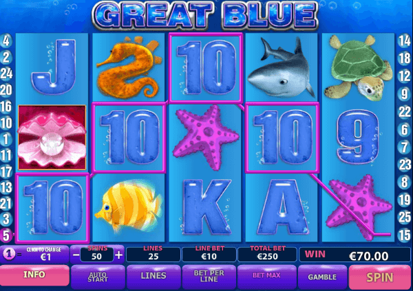 Great Blue Slots