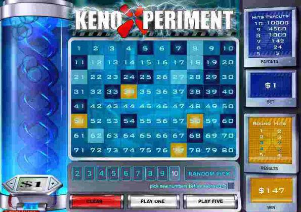 Keno Xperiment