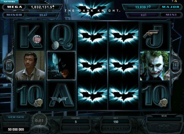 The Dark Knight Rises Slots
