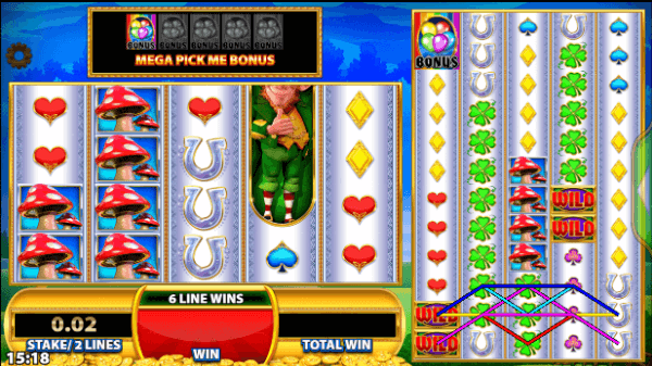 Reels of Gold Slot Big Bets Feature