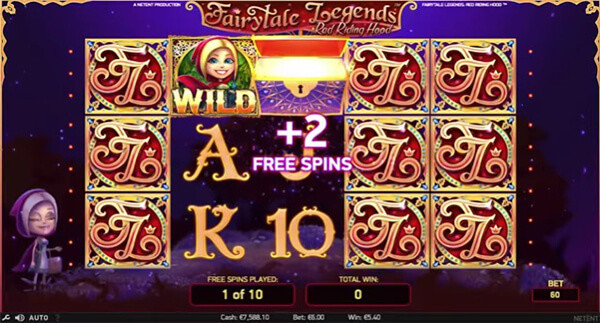 Spiele Fairytale Legends: Red Riding Hood Slot bei Casumo