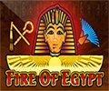 Fire of Egypt Slot Machine