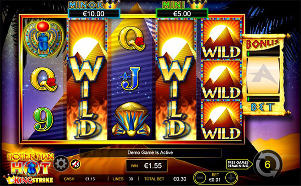 online slot machine sizling hot