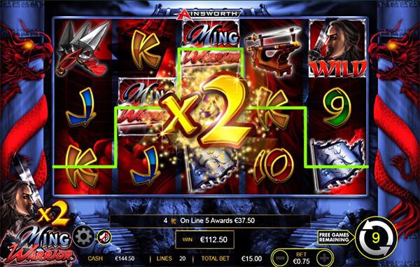Ming Warrior Slot Online