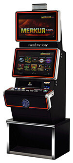 Merkur Slot Machine Cabinet