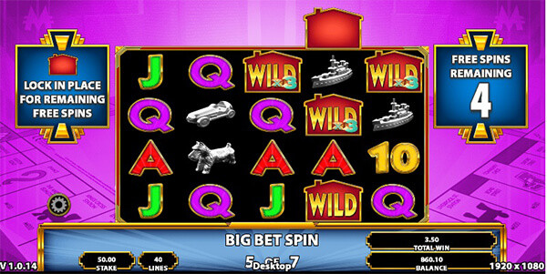 Bring the House Down Slot Big Bet Feature