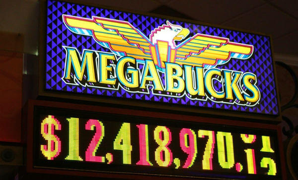 megabucks Progressive Slot