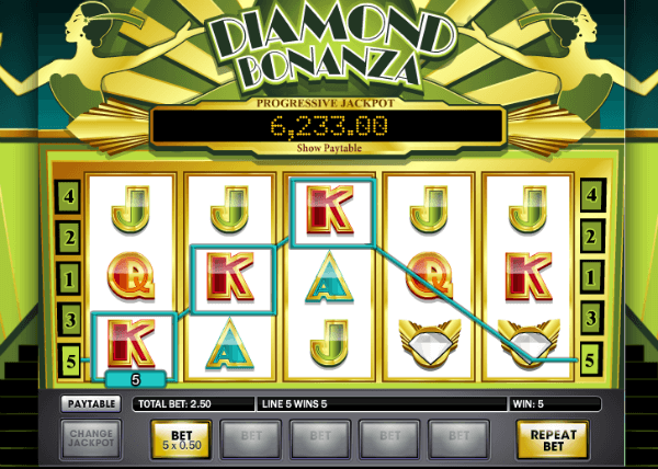 Diamond Bonanza Slot Machine
