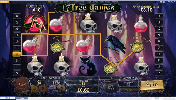 Halloween Fortune Slot Free Spins